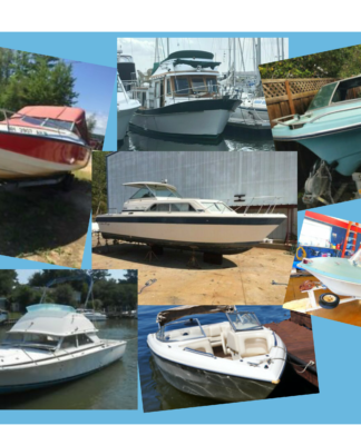 Project boats for sale